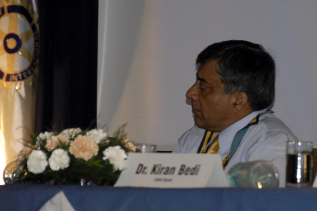 Arvind Mehan, President, Rotary Club of Chandigarh