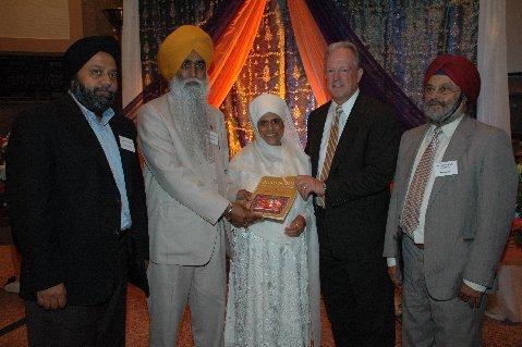 Congressman George Radonovich with Guru Nanak: His Life and Teachings
