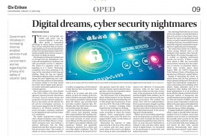 Digital dreams, cyber security nightmares